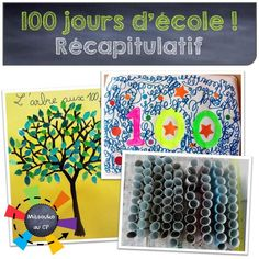 Plein d'idées, d'activités, et de documents pour préparer votre 100ème jour d'école !
