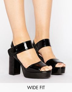 d23ed72e04e Get this Lost Ink Wide Fit s heeled sandals now! Click for more details.  Worldwide