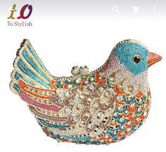 AliExpress - To Stylish Colorful Bird Clutch