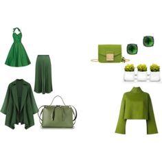 Kall grön vänster, varm grön höger