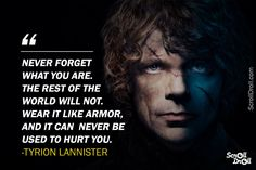 The best Tyrion Lannister quotes from the witty, humourous and bold imp from Casterly Rock who didn't ever mince his words Game Of Thrones Facts, Game Of Thrones Quotes, Game Of Thrones Funny, Got Quotes, Movie Quotes, Life Quotes, Tyrion Quotes, Qoutes, Wisdom Quotes