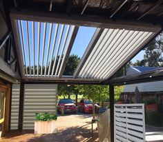 Also view Fabric Retractable Roofs, External Venetian Blinds, PVC or Mesh Outdoor Blinds or Mesh Shade Blinds. Pergola With Roof, Covered Pergola, Backyard Pergola, Pergola Shade, Gazebo, Patio, Outdoor Blinds, Outdoor Shade, Pergola Decorations