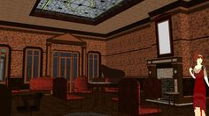 Victorian Mansion Full furnished. Late Victorian (1890-1900) - 3D Warehouse