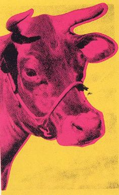 Andy Warhol cow wallpaper, 1971