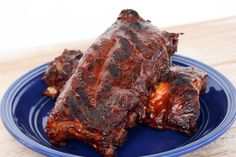 """Crockpot BBQ Ribs 
