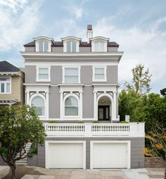 Gray exteriors - How many times did you visit your current home before you chose it? - Houzz