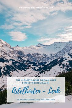 Our favorite ski resort Adelboden in Bernese Oberland was a great choice for a few days' mom & daughter ski holiday. Family Ski, Family Travel, Adelboden, Hotel Bristol, Windy Weather, Ski Holidays, Ski Resorts, Mom Daughter, Travel News