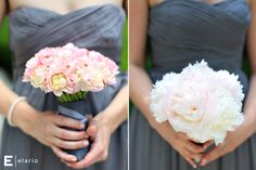 light pink peony bouquet