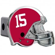 Alabama Crimson Tide NCAA Metal Helmet Trailer Hitch Cover