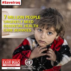 Vital #aid operations supporting millions of people affected by the conflict in #Iraq risk closure unless funds are made available immediately, the official overseeing #humanitarian operations in the country said today. With escalating conflict, the United Nations and its #NGO partners are asking donors for US$ 497 million to cover the cost of providing shelter, food, water and other life-saving services over the coming six months.