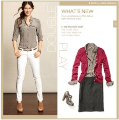 Simple button up blouse doubles for a date night top with hubby but under a cardigan for school
