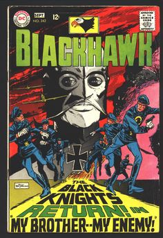 BLACKHAWK #242, Black Mask, Back to Golden Age costumes, Bob Haney,Marv Wolfman,Pat Boyette, Mercenaries,Military,Soldier of Fortune, War