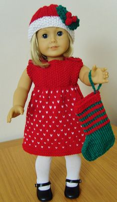 Ravelry: Jacknitss' AMERICAN GIRL DOLL MONOCHROME MAGIC & STARS & STRIPES for purchase
