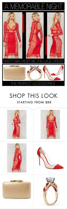 """""""A Memorable Night"""" by latoyacl ❤ liked on Polyvore featuring Nasty Gal, Gianvito Rossi and Kayu"""