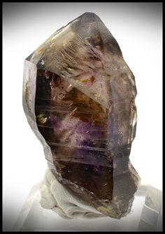 Brandberg Crystal 31.60 g 51.33mm Smoky Amethyst Skeletal Scepter from InnerVision Crystals