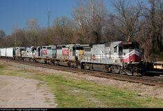 RailPictures.Net Photo: NREX 8503 National Railway Equipment (NREX) GE B39-8E (Dash 8-39BE) at Shreveport, Louisiana by Brandon Kilgore