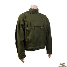 Swedish Military Motorcycle Jacket