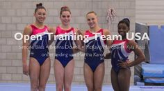 Open training with Team USA