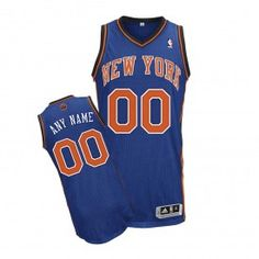 adidas Knicks Authentic Personalized Revolution 30 Road Jersey New York  Knicks 51ce5593e