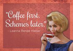 Koffie. Kun je kort of lang over praten, maar deze quotes zeggen genoeg. Thanks Buzzfeed!