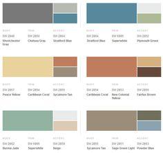 suburban modern paint | Sherwin-Williams Suburban Modern Exterior Colors