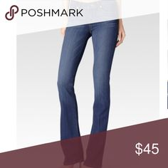 """Paige Manhattan Boot Jean in Armstrong Like new! To my knowledge these have never been worn. Color is Armstrong. Inseam: 30.5"""" Midrise fit.   From the website: Made from our most luxuriously soft TRANSCEND fabric. Using the latest performance fiber technology, this denim features an innovative formula that combines chic with comfort and won't stretch out no matter what. PAIGE Jeans"""