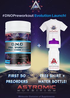Be one of the lucky 50 to join the Molecular Evolution in style! Preorder today! Like and REPIN!  #Preworkout #Supplements #Nutrition #Bodybuilding #weightlifting #powerlifting #fitness #fitfam #MolecularEvolution #DNO #FitFam #Gym #Sports #Athletes #IFBB #NPC
