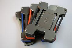 Matrix - Titanium and Carbon Fiber Credit Card Holder. by Jens Anso — Kickstarter
