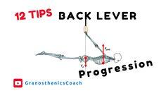 Calisthenics - 12 Tips for Back Lever Progression