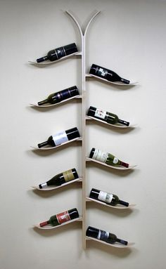 ski wine bottle tree - oh yes, for my future ski chalet
