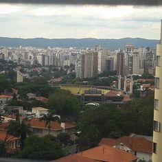 The view. 🏟  #Pacaembu #stadium #theview #SãoPaulo #SP #essepe #cidade #city #FêPorAí