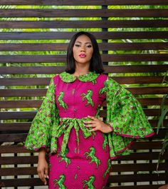 Ankara Style Latest and Modern Gowns, Tops, Dresses African Fashion Ankara, Latest African Fashion Dresses, African Dresses For Women, African Print Dresses, African Print Fashion, Africa Fashion, African Attire, African Wear, African Women