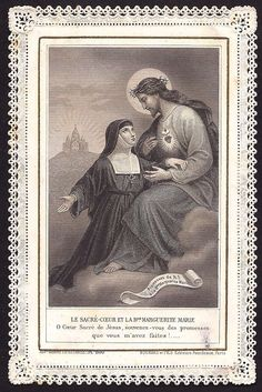 Margarita María y el Corazón de Jesús