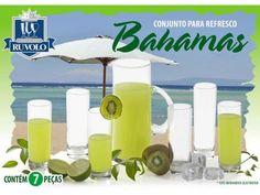 Conjunto para Suco 7 Peças - Ruvolo Bahamas com as melhores condições você encontra no Magazine Edmilson07. Confira!