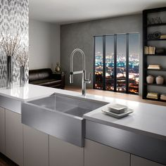 The full-sized Culina faucet by Blanco