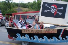 Beware of Pirates of all ages during the Pirate Festival in Eastport, Maine!