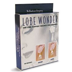 Lobe Wonders Ear Lobe Support Patches for Earrings – Alixandra Collections