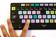 Keyboard Cover of All The Photoshop Shortcuts.