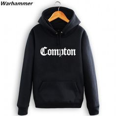 Compton Greatest Rap Mens Hoodies&Sweatshirts Fleece Hip Hop Tracksuit Plus Pullover Black Size O-neck Hoody Homme Marque Jacket #Affiliate