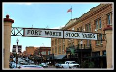 Fort Worth Stockyards National Register historic district is emblematic of the establishment of the livestock industry in the late 19th and early 20th centuries and was central to the cultural and economic development of western states. (Credit: Photo by John Roberts) Click on pin to preview our children's American History DVDs.