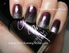 Cult Nails ~ Enigmatic with China Glaze ~ Icicle sponged on tips
