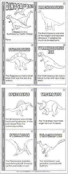Learn about dinosaurs and practice reading skills! Learn about dinosaurs and practice reading skills! Dinosaurs Preschool, Dinosaur Activities, Learning Activities, Preschool Activities, Kids Learning, Vocabulary Activities, About Dinosaurs, Learning Spanish, Dinosaur Facts For Kids