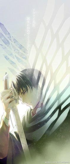 attack on titan / shingeki no kyojin Armin, Mikasa, Levi X Eren, Fanarts Anime, Anime Manga, Anime Guys, Anime Art, Ereri, Levihan