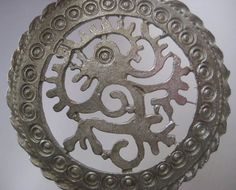 Interesting Vintage Mayan or Aztec Revival by StarPower99 on Etsy, $12.00