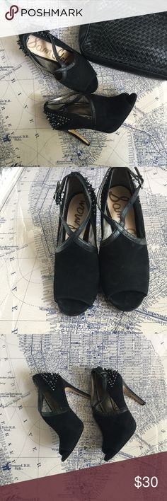 Sam Edelman Spike Heels Sam Edelman spike heels. These are fierce! Some wear but overall in good condition. Sam Edelman Shoes Heels
