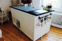 My sewing room, sewing room, Ikea, cutting table, Kallax . - Ikea DIY - The best IKEA hacks all in one place