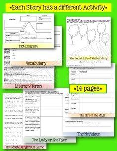 Short-Story-Unit-Interactive-Layered-Flip-Book-1337336 Teaching Resources - TeachersPayTeachers.com