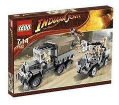LEGO Indiana Jones Race for the Stolen Treasure: Recreate one of the greatest chase scenes in movie history with this exciting set! Lego Indiana Jones, Legos, Steven Spielberg Movies, Henry Jones, Hero Factory, Lego System, Lego Toys, Lego Lego, Buy Lego