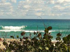 @SurfnWeatherman in Palm Beach, FL - fun swells coming in today! 2/14/12