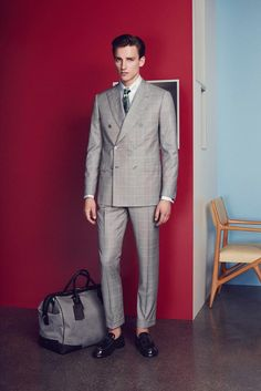 Brioni Spring 2015 Menswear - Collection - Gallery - Look 1 - Style.com